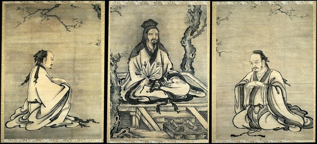 Конфуций и его уче